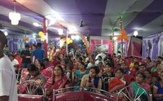 Janmastami celebrated at ISKCON Gaya. On 15th August, Janmastami was celebrated at ISKCON Gaya (Bihar) campus very gorgeously. More than 10,000 people attended and enjoyed bliss in whole day progra…
