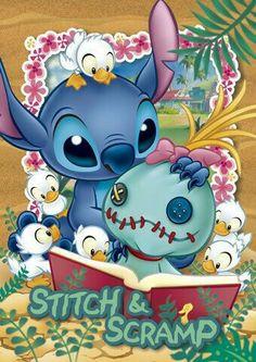 Stitch et Scrump