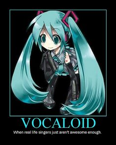 vocaloid- in my opinion, vocaloid is better then allot of modern music I hear. I find it sad, but hey I'm not complaining. I love vocaloid! Otaku, Manga Anime, Anime Art, Vocaloid Characters, Miku Chan, Kagamine Rin And Len, Mikuo, Cosplay Anime, Fandom