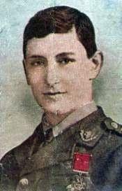 Lieutenant Richard Basil Brandram Jones VC. Born in Honor Oak, Lewisham on 30 April 1897