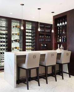 Gorgeous #Modern #Home #Bar Space