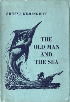 The Old Man and the Sea by Ernest Hemingway. One of our favorite classics for teens to read. Never finished. Book was so boring!