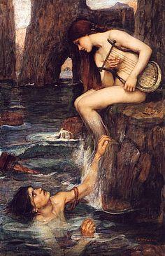 """The Siren"" by John William Waterhouse"