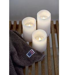 Sirius Tenna 3 kpl valkoinen LED-kynttilä | Karkkainen.com verkkokauppa