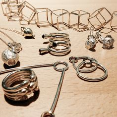 Bubbles and Balloons. Veggies and Fruits. Jewelry by Lamette. www.lamette.se