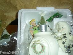 """$25.00 OBO + FREE shpg! MIB 2007 DEPT. 56 SNOWBABIES """"TRIMMING THE TREE WITH TINK"""""""