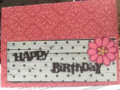 Colorful, Creative Cards: Happy Birthday Card