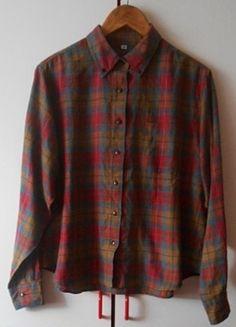 Kup mój przedmiot na #Vinted http://www.vinted.pl/damska-odziez/koszule/4170456-koszula-w-krate-vintage-zapinana-na-guziki