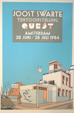 Quest Amsterdam 1984 by Joost Swarte