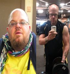 Steroid use - before and after photo. | Pros and Cons of