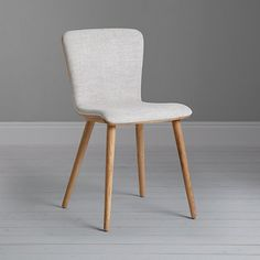Buy Citrus John Lewis Maya Upholstered Dining Chair from our Dining Chairs range at John Lewis & Partners. Grey Oak, Grey Chair, Upholstered Dining Chairs, Dining Table, Dining Rooms, Home Accessories, Accent Chairs, Living Spaces, Upholstery