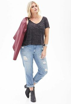 look casual pour femme ronde