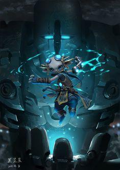 [Guild Wars 2] Asura, InfiniteCube  Studio on ArtStation at https://www.artstation.com/artwork/guild-wars-2-asura