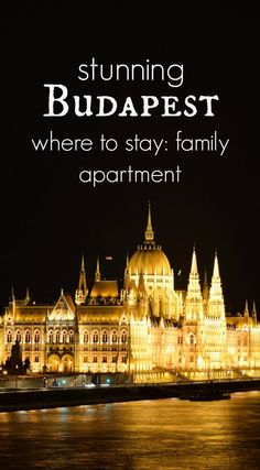 Budapest. Love at first site and an amazing place to stay for families in central Budapest, Hungary. via @worldtravelfam/
