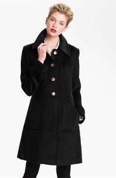 Tahari 'Megan' Single Breasted Coat available at #Nordstrom