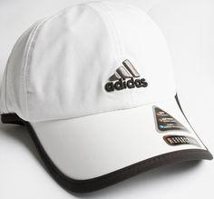 Adidas Adizero Running Cap White/Black/Gray. Perfect for summer