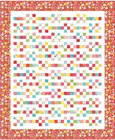 Jelly Roll Dash (Jelly Roll Quilt)   Craftsy