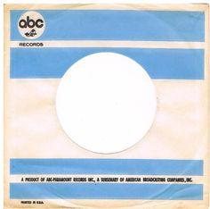 US ABC record sleeve Original 60 s no writing - Impressions, Sapphires, Yum Yums