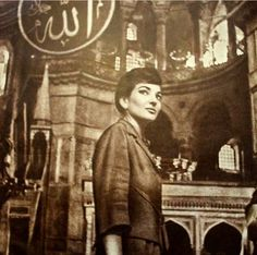 Rare picture for la divina In Hagia Sophia