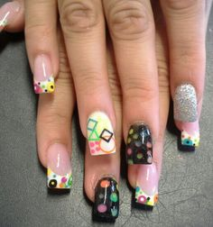 Acrylic nails by Eneidy