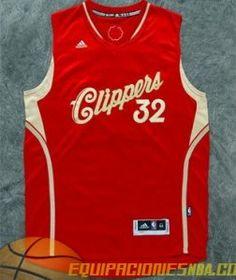 Camiseta nba baratas 2015-16 Navidad Los Angeles Clippers Griffon  32 rojo e5f3257f4ef