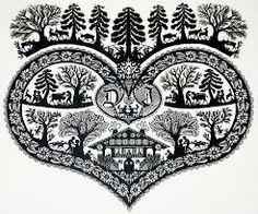 One of the many crafts we can do - Scherenschnitte, swiss paper cutting :) Kirigami, Paper Cutting, Cardboard Sculpture, World Thinking Day, Swiss Design, Cow Art, Paper Artwork, Arte Popular, Paper Design