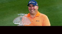 Kevin Stadler, 2014 winner of Phoenix Open.  Now gets to play with his father, Craig, in the Masters.  First father and son team to achieve this goal.