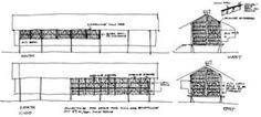 The Marika-Alderton House by Glenn Murcutt - Sketch © Glenn Murcutt, courtesy the Pritzker Prize Committee
