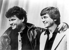 Phil Everly, right, of the Everly Brothers died Jan. 3, 2014. He's picture here with his brother Don in an undated photo. Register file photo