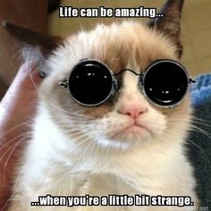 People are strange when you're a stranger.