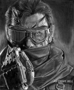 I Haven't done a video game drawing in a while so i chose my all time favorite series: METAL GEAR This is Venom Snake, formerly Naked Snake and later Big Boss Metal Gear Solid V: The Phantom Pain D...