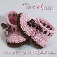 Baby Slippers Crochet Pattern