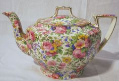 Royal Winton Grimwades 'Summertime' Tea Pot