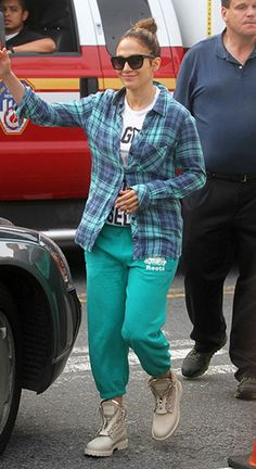 d22f5caeae50 Jennifer Lopez wearing Tom Ford Celina Sunglasses