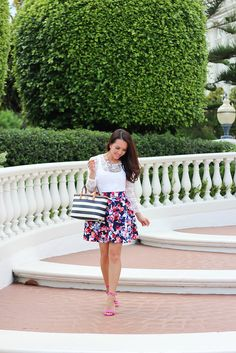 Floral, Lace and Stripes