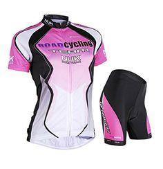 Nuckily Women's Cycling Jersey Outdoor Shorts Qucik Dry Women Short Sleeve Bicycle Wear Clothes Jersey Pants - http://cyclingclothingforwomen.shopping-craze.com/index.php/2016/04/16/nuckily-womens-cycling-jersey-outdoor-shorts-qucik-dry-women-short-sleeve-bicycle-wear-clothes-jersey-pants-2/