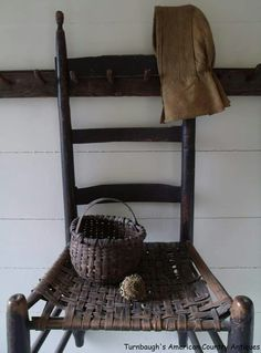 I have a primitive chair obsession....anyone else?
