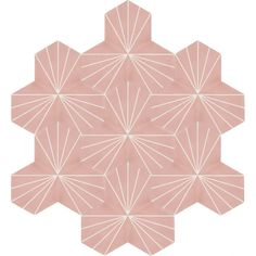 Moroccan Encaustic Cement Hexagonal Tile Artic-23-hex