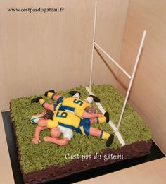 Match ASM Rugby, Ice Cream Birthday Cake, Wedding Cakes, Inspiration, Sports, Design, Cake Decorations, Birthday, Everything