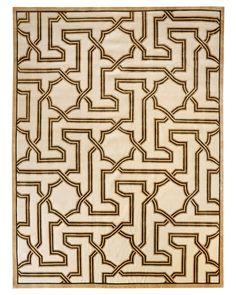 """Arabesque"" rug by Mary McDonald"