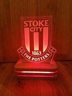 Stoke City LED mood light wit RF Remote