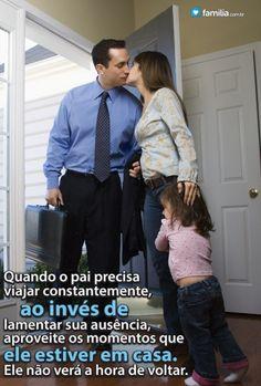 Familia.com.br   Como lidar com um pai que tem que viajar #Pai #Viagem