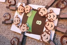 A couple weeks ago Reading Confetti posted a really neat idea on her blog. She and her son had been reading a book about counting called Lyle, Lyle Crocodile: Lyle Walks the Dogs which inspired a homemade counting game complete with crocodile decorated clothespins and matching of numbers. It looked so cute and yet educational …