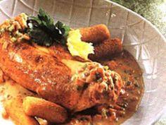 Tandoori Chicken, Veggies, Herbs, Meat, Ethnic Recipes, Om, Dressings, Salads, Kitchens
