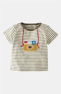 Mini Boden 'Fun Appliqué' T-Shirt (Infant) available at #Nordstrom