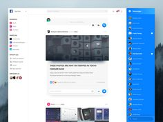 We searched Dribbble for awesome redesign concepts and collected a handful of our favorites to share with you.