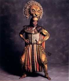 Mufasa - Photoset of The Original Broadway Cast of Disney's The Lion King