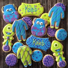 """""""Little Monster"""" baby shower 