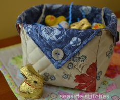 Seaside Stitches: FREE Fabric Box Tutorial saved on my pc under Fabric Box Fabric Boxes Tutorial, Purse Tutorial, Sewing Tutorials, Sewing Patterns, Bag Tutorials, Purse Patterns, Fabric Crafts, Sewing Crafts, Fabric Storage Boxes