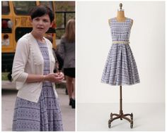"Anthropologie Mompos Dress as seen on Mary Margaret in episode 1x02 ""The Thing You Love Most"" (no longer available) Note: This item is only available online via ebay. Listings are subject to change."